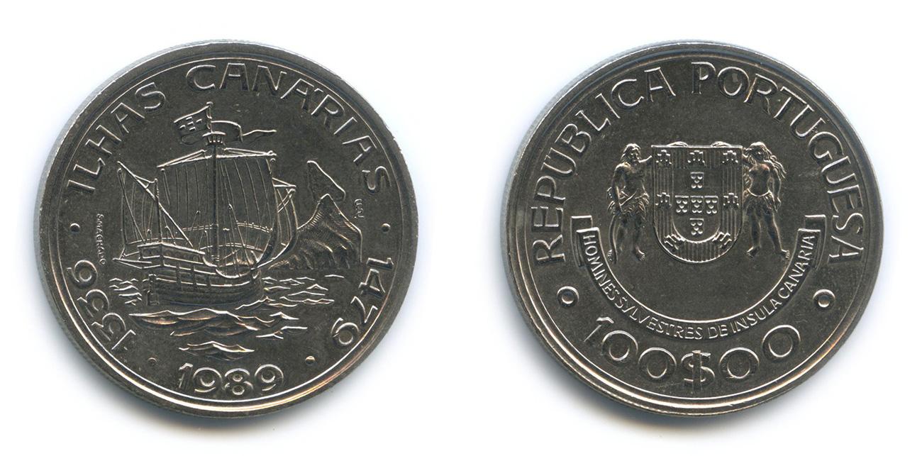 Монеты канарских островов 10 рублей 50 лет первого полёта