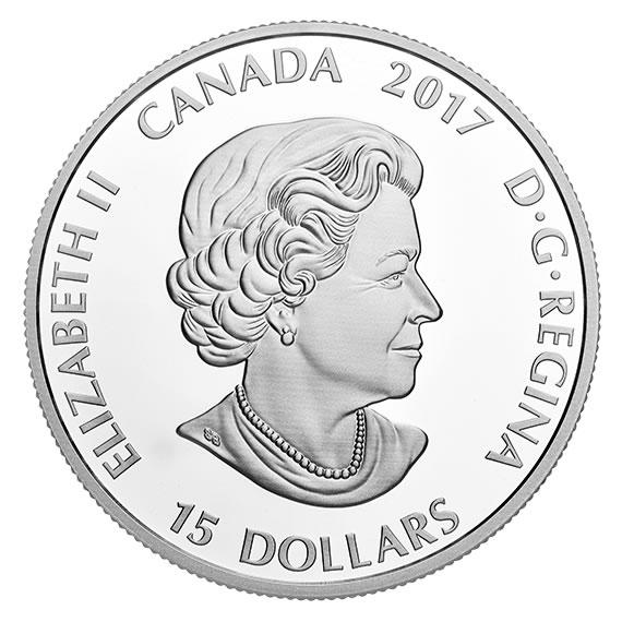 15 долларов 2017 - Канада