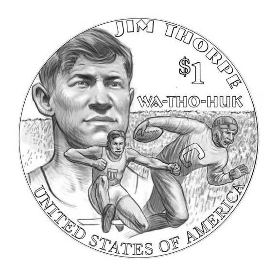 """В США утвердили дизайн нового доллара из серии """"Сакагавея"""""""