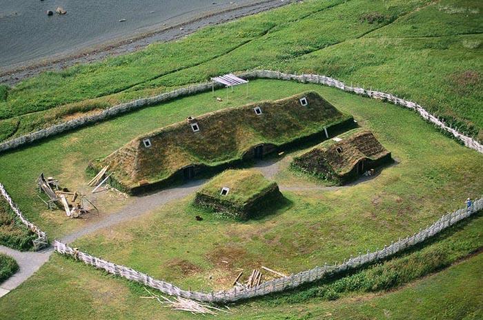 Корабли викингов у берегов Канады: драккар