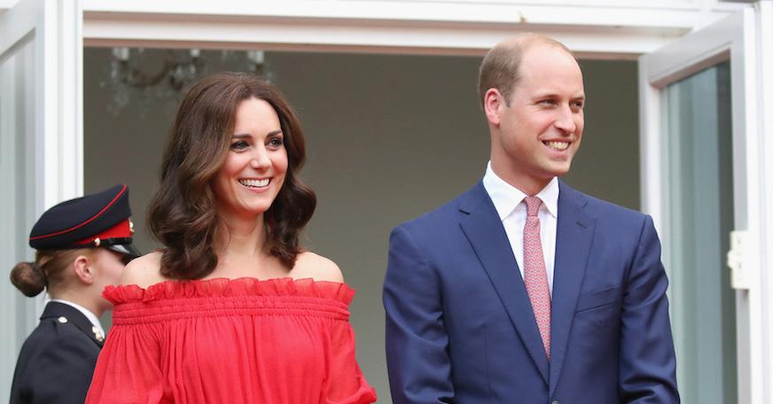 Новая Зеландия приветствует принца Луи