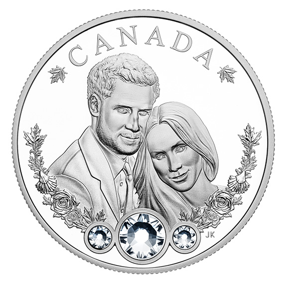 Королевская свадьба на 20 долларах Канады
