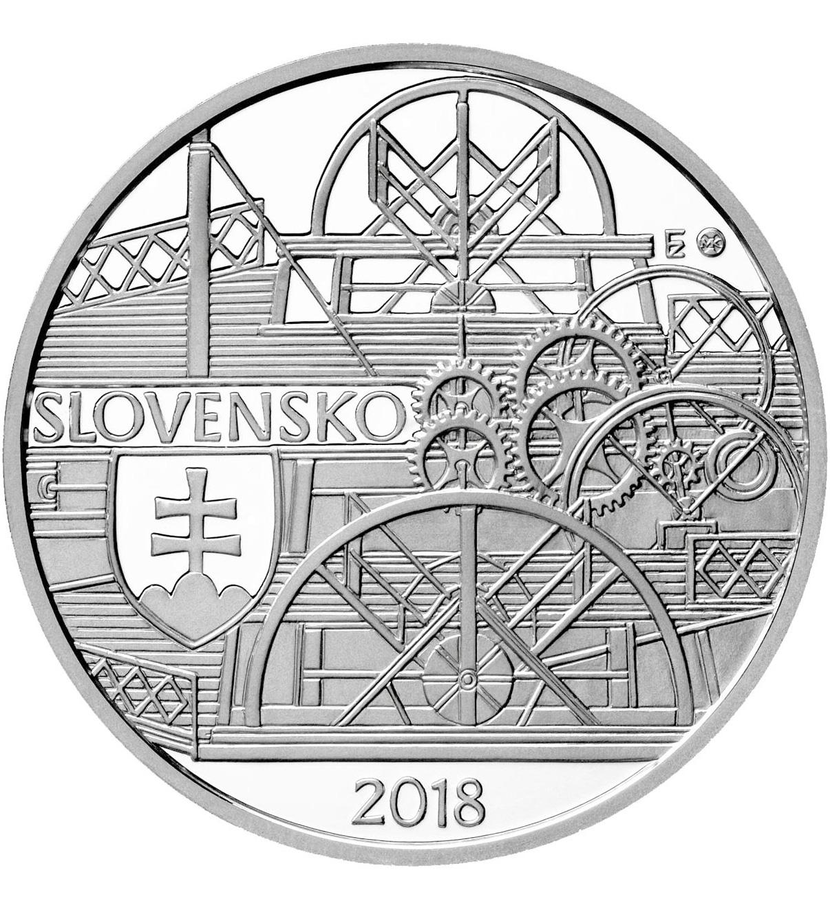 10 евро в память о первом пароходе на Дунае