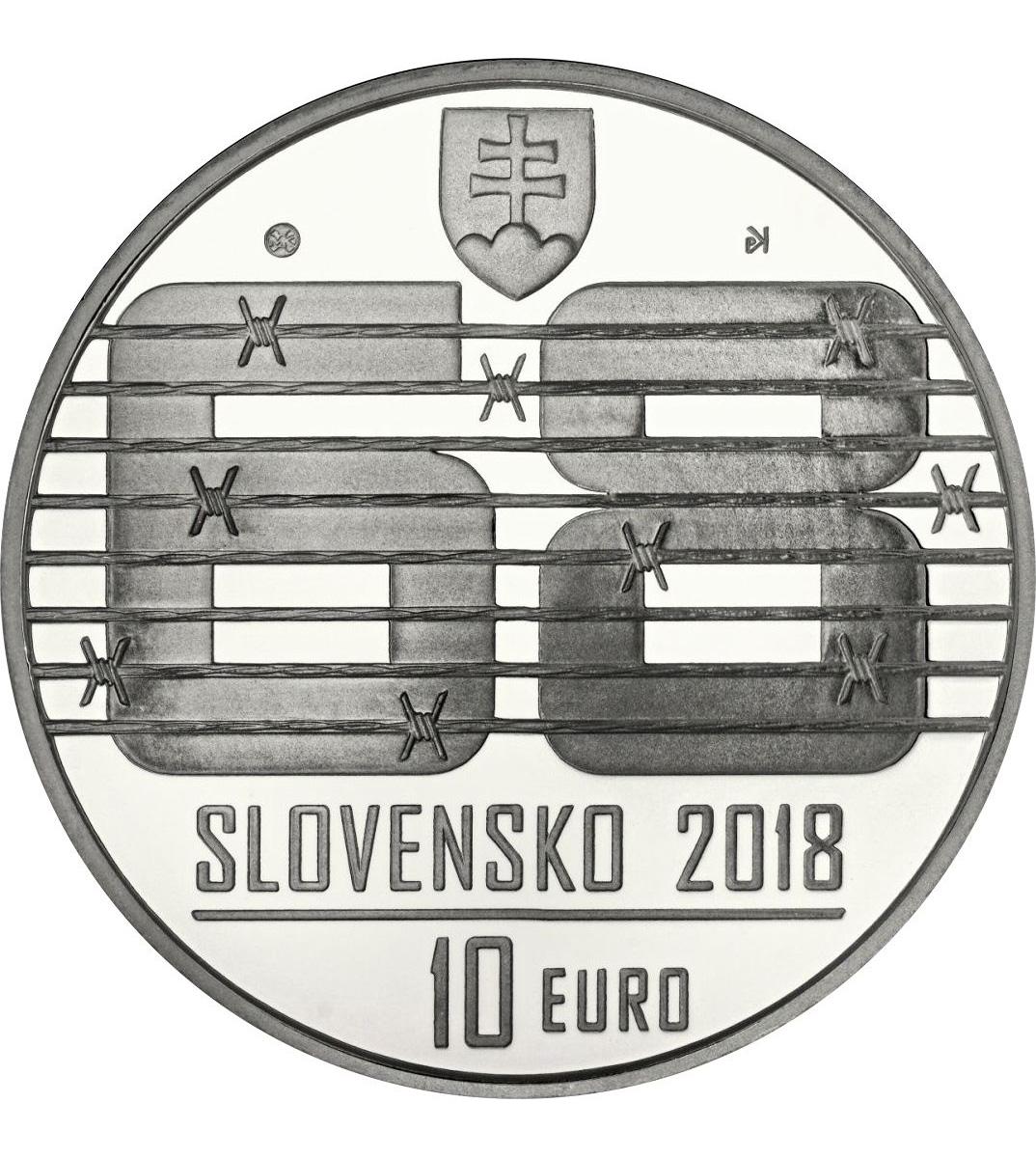 """Словакия: €10 к 50-летию операции """"Дунай"""""""