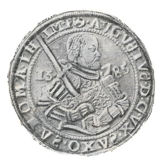 Серебряные талеры Саксонии XVI века
