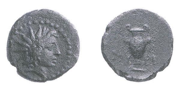 Керамика на античных монетах