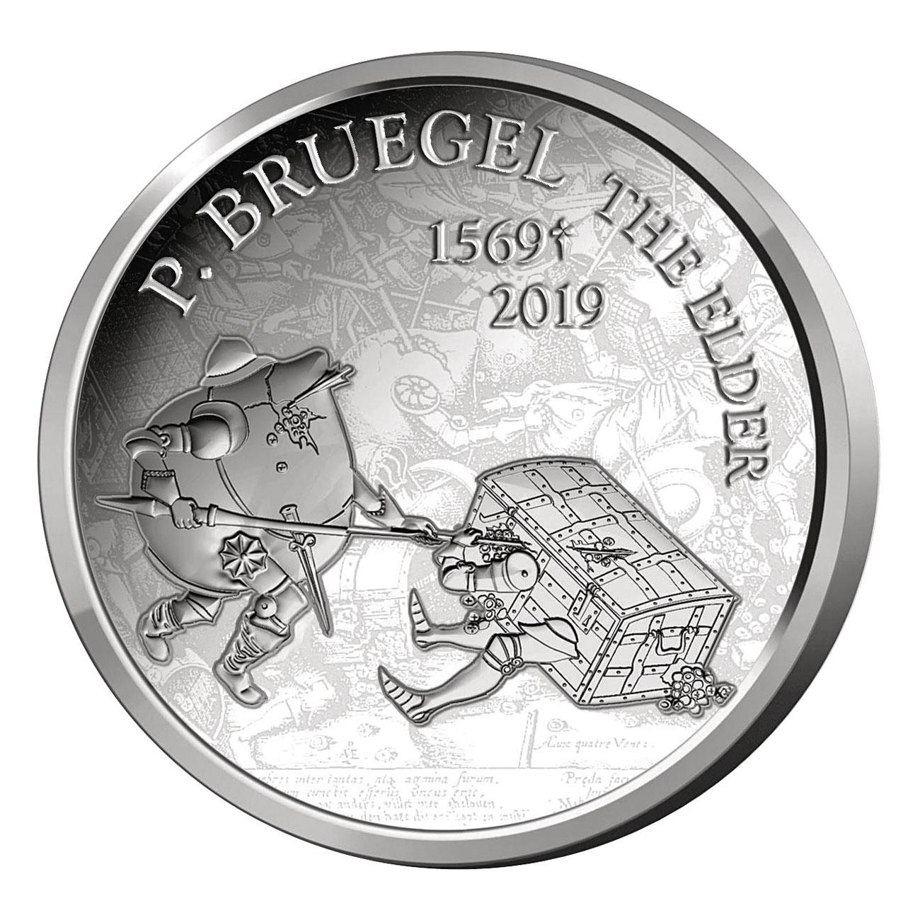 10 евро к 450-летию со дня смерти Питера Брейгеля