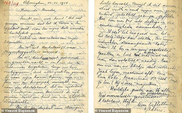 Бельгийские франки спасли солдата Первой мировой войны