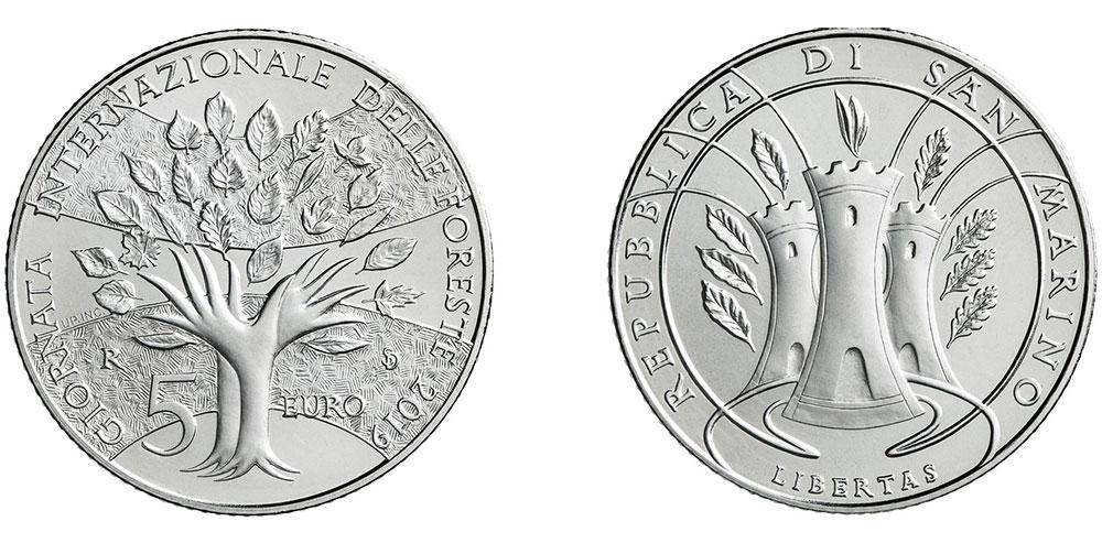 Новые 5 евро Сан-Марино