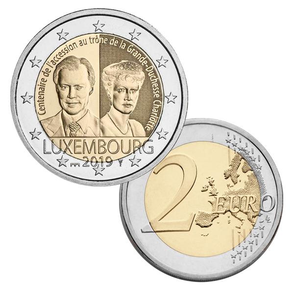 2€ в честь герцогини Шарлотты