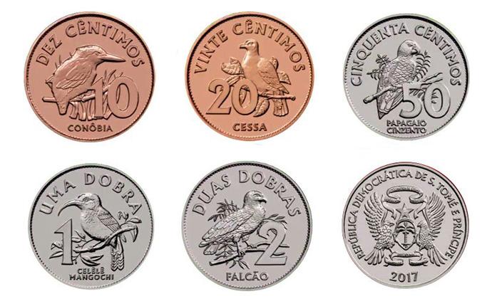 Монеты Сан-Томе и Принсипи