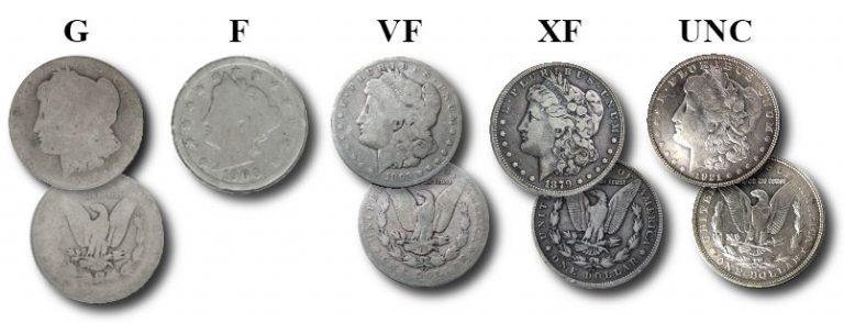 Состояния монет: Что влияет на стоимость монеты?