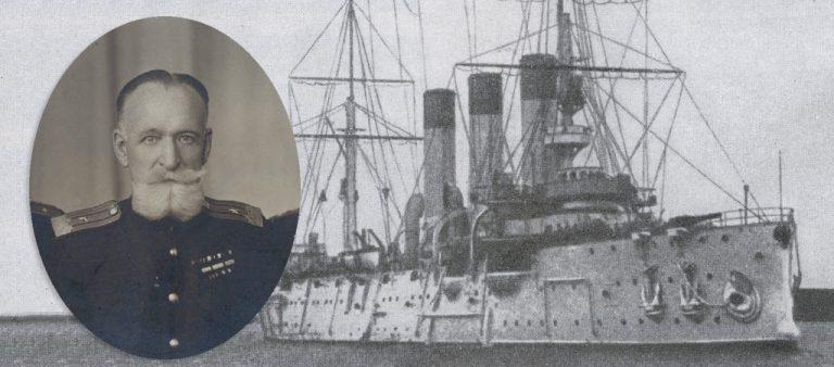 """Корабли на открытках командира """"Авроры"""""""