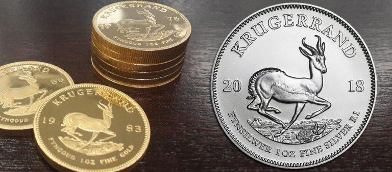 Серебряные крюгерранды ЮАР