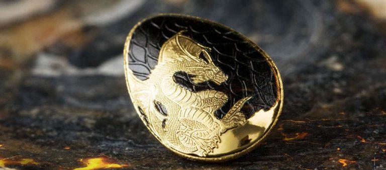 Золотое яйцо дракона из Палау