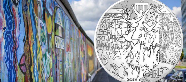 10 евро к 30-летию падения Берлинской стены