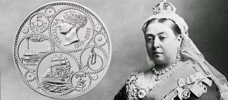 5 фунтов к 200-летию со дня рождения королевы Виктории