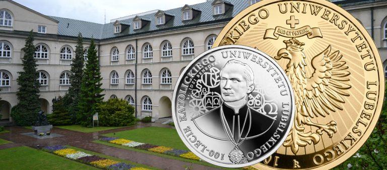 Польские злотые к 100-летию Католического университета Люблина