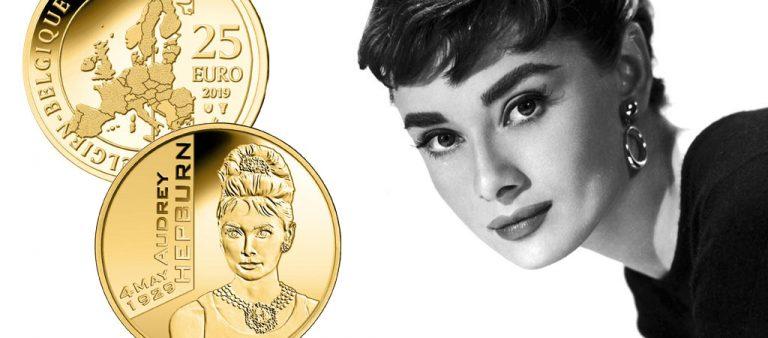 25 евро к 90-летию со дня рождения Одри Хепберн