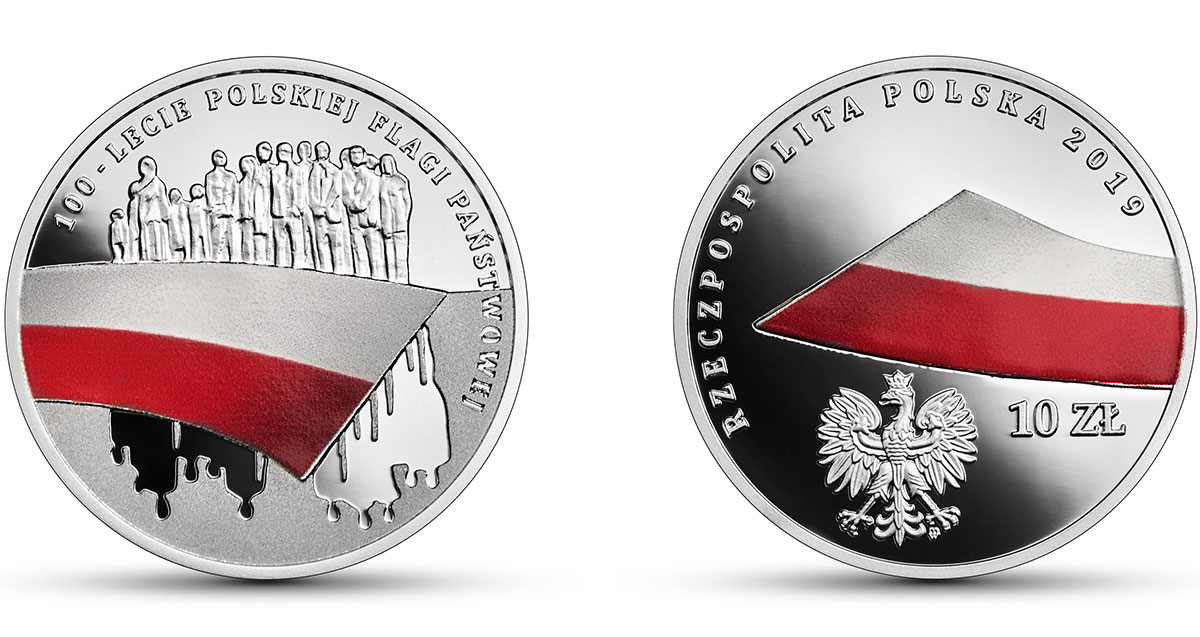 100-летие польского флага