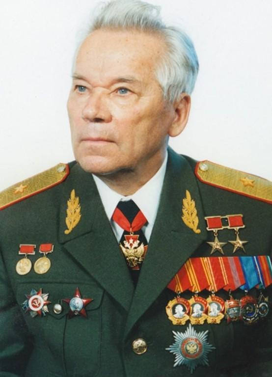 2 рубля к 100-летию конструктора М. Т. Калашникова