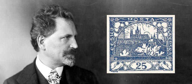Автор первых марок Чехословакии