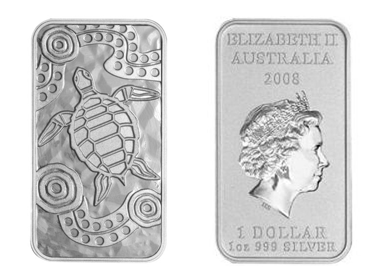 Искусство аборигенов на долларах Австралии