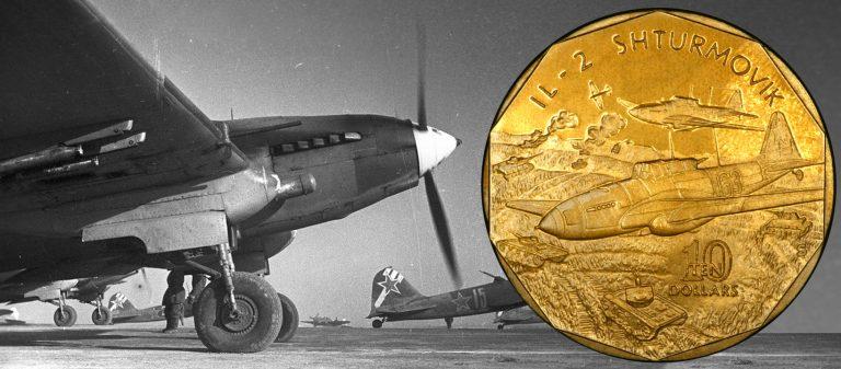 Самолеты Второй мировой на долларах Маршалловых островов