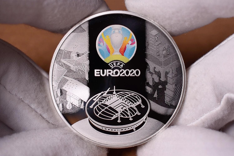3 рубля - Чемпионат мира ЕВРО 2021