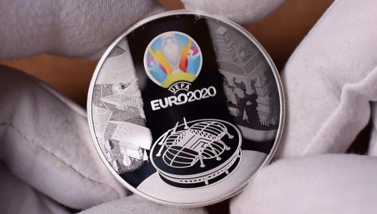 Монеты Футбол ЕВРО 2021