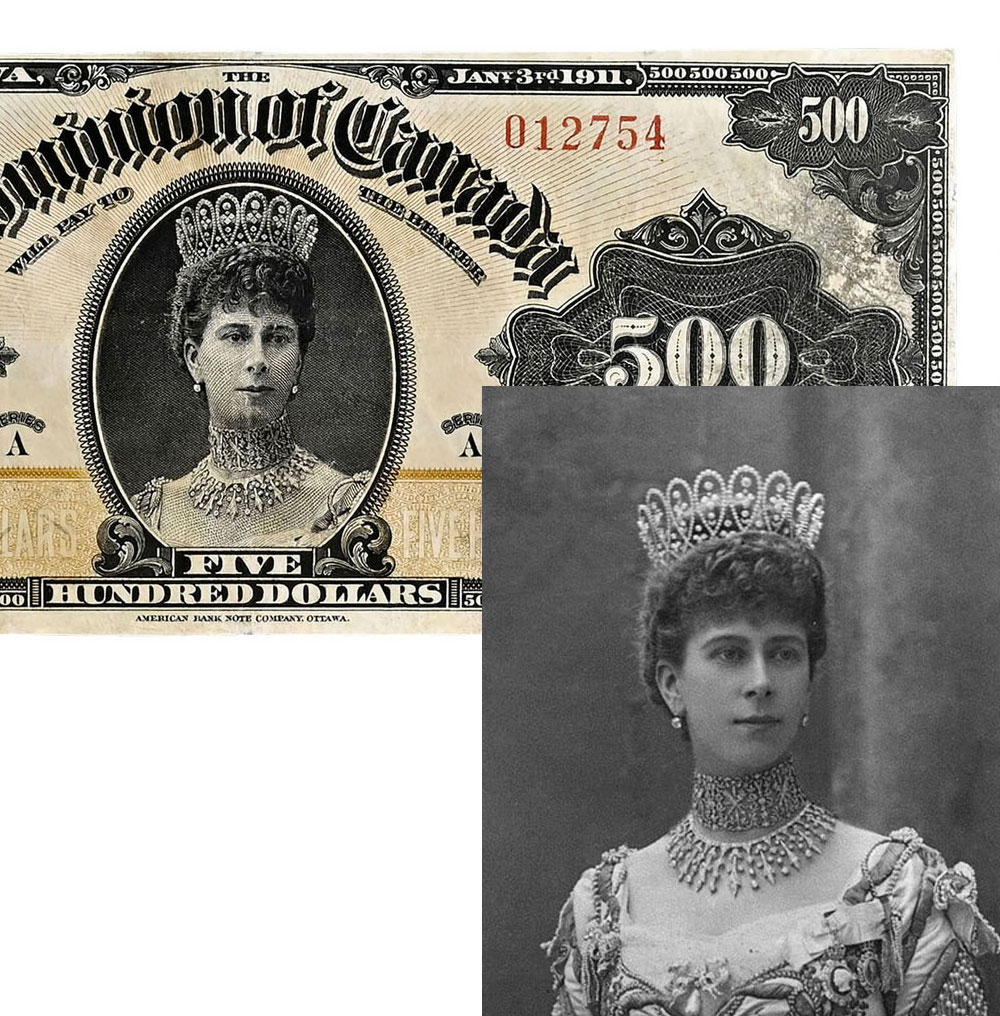 500 долларов Канады (Мария Текская)