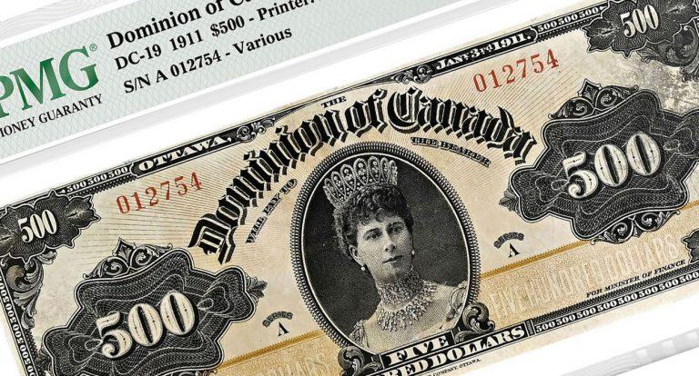 Дорогие банкноты Канады