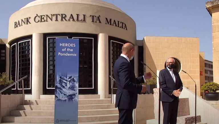 2 евро 2021 - Герои пандемии (Мальта)