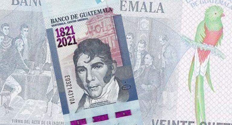20 кетцалей 2021 - Гватемала